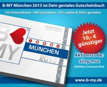 Topp-Angebot für unsere Leser: B-MY München 2015 – Das geniale Gutscheinbuch