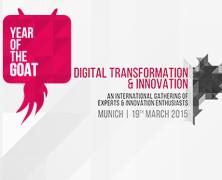 Year of the Goat: Einladung zur Konferenz zum Thema digitale Transformation und Innovation